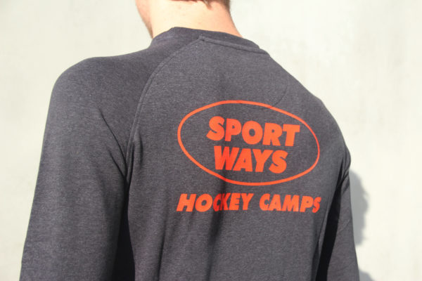 SportWays - Staff Sweater Zwart / Oranje