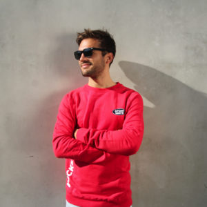 SportWays - Staff Sweater Rood / Wit