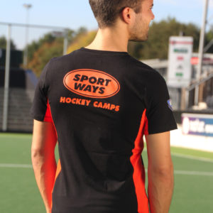 SportWays - Staff Shirt Zwart / Oranje